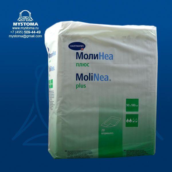 5af6bede7e27 1618048(161824) MoliNea Plus 180х90см Одноразовые впитывающие пеленки. В уп  20шт. купить по цене от 870 ...